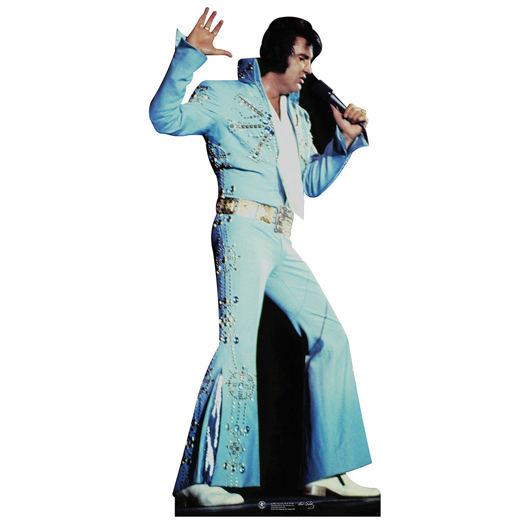 Elvis Presley Blue Jumpsuit