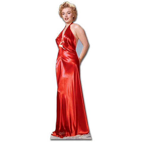 Marilyn Monroe Red Gown