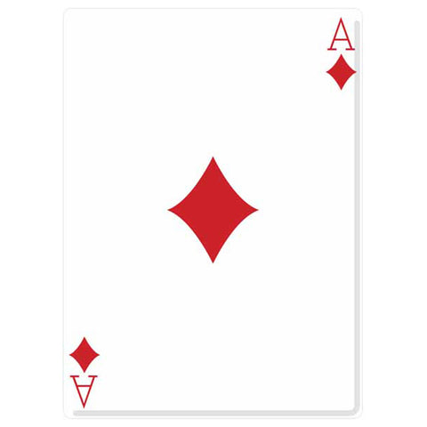 Ace of Diamonds Playing Card