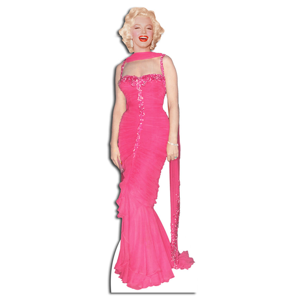 Marilyn Monroe Pink Evening Gown