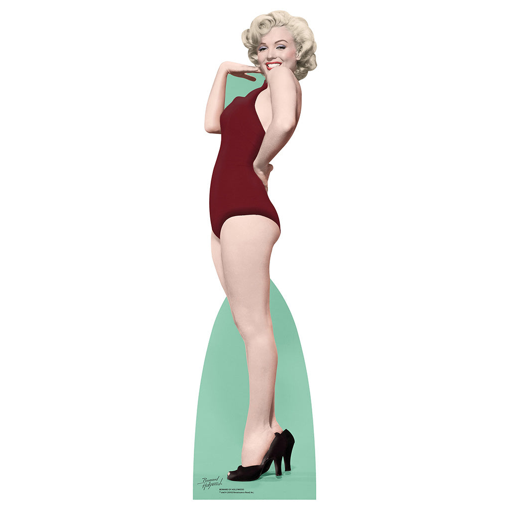 Marilyn Monroe Red Swimsuit