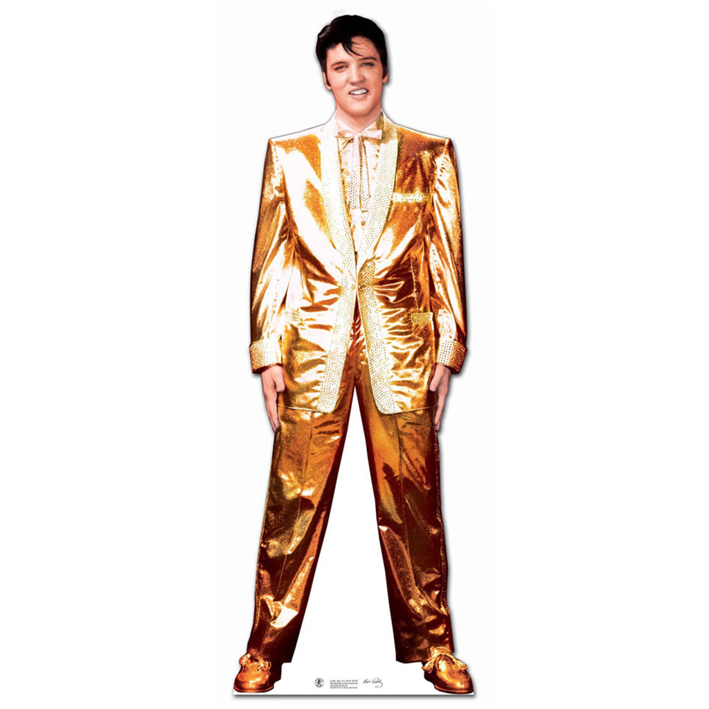 Elvis Presley Gold Lame