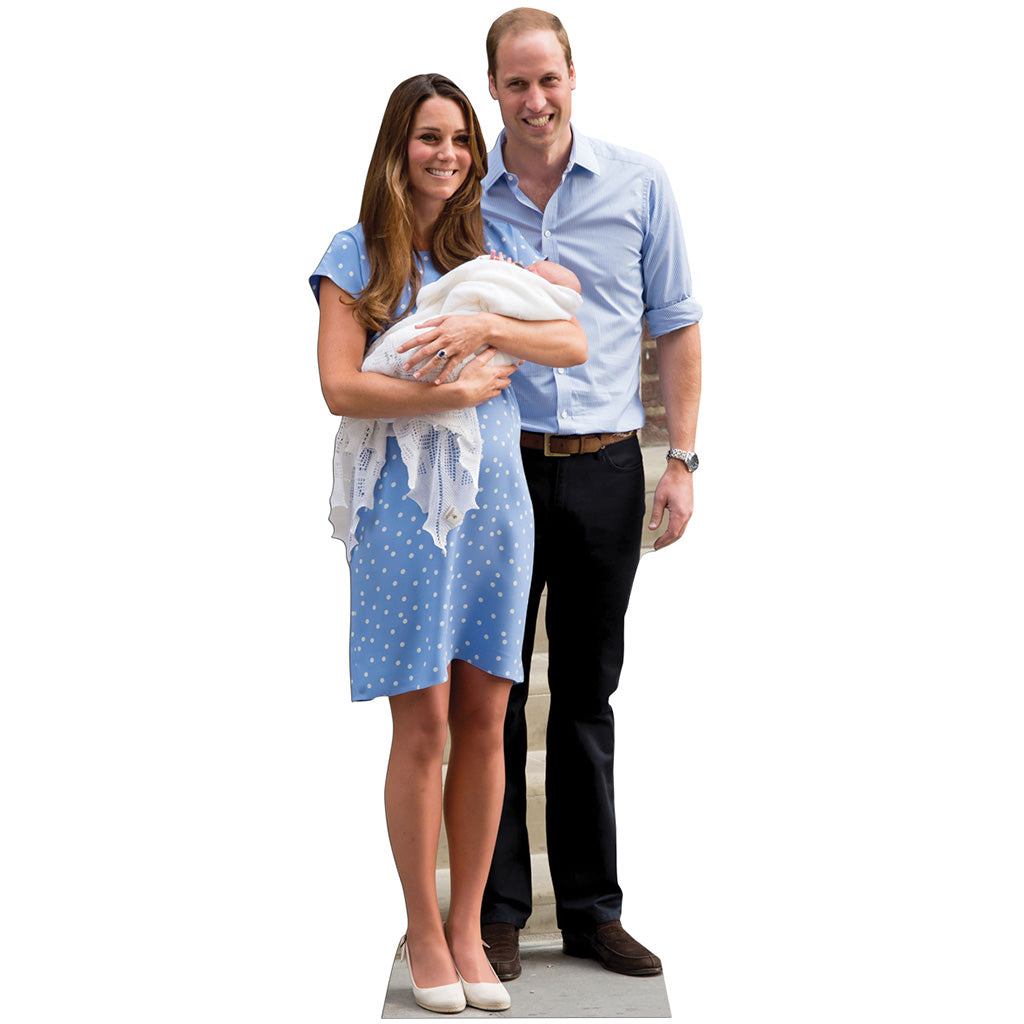 Will, Kate and Baby George