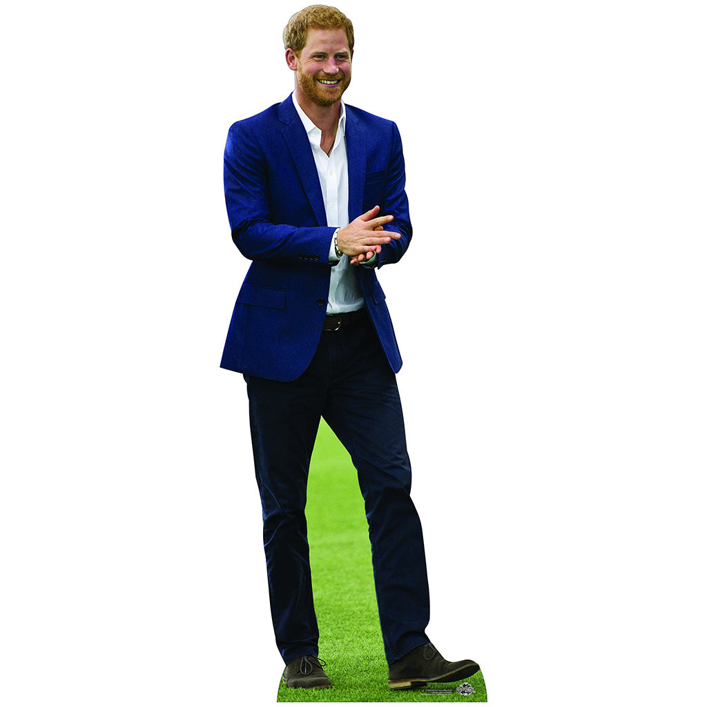 Prince Harry Blue Suit