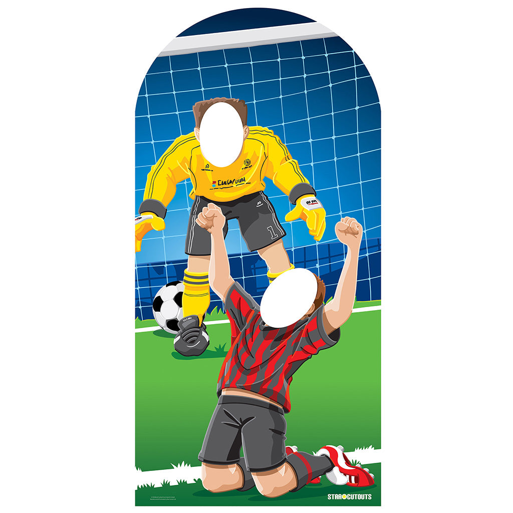 Adult Football (Soccer) Stand-In