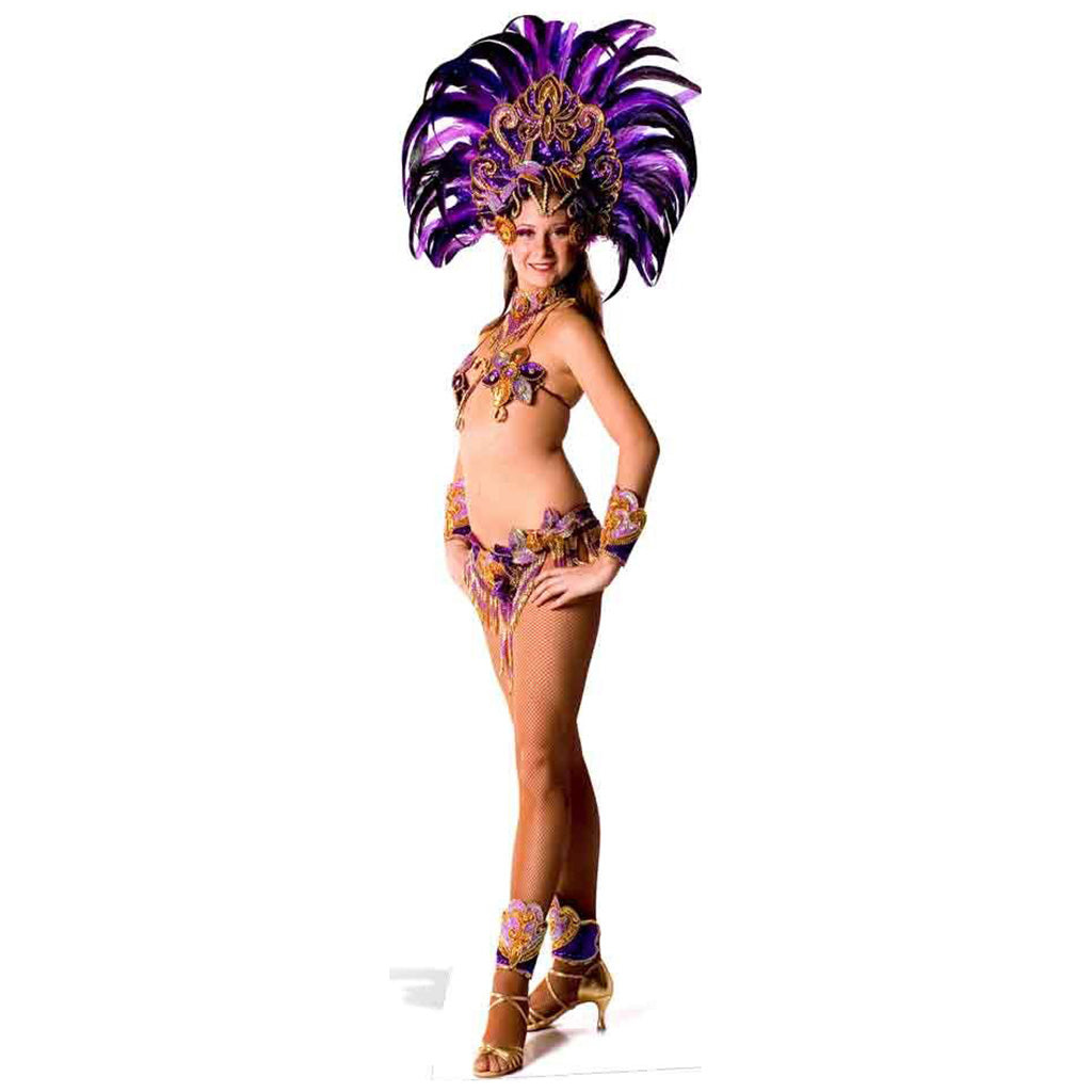 Carnival Purple Peacock Babe