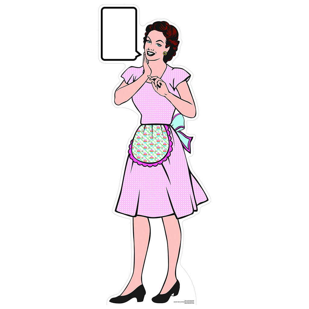 1950s Style Classic Housewife