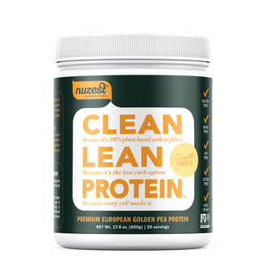 FORBES: Nuzest is One of The Seven Best Plant-Based, Stevia-Free Protein Powders