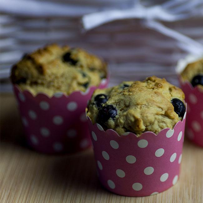 NuZest Lemon Blueberry Muffins