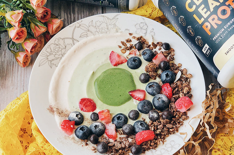 Matcha Mousse Bowl