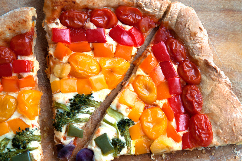 KIDS RAINBOW PIZZA