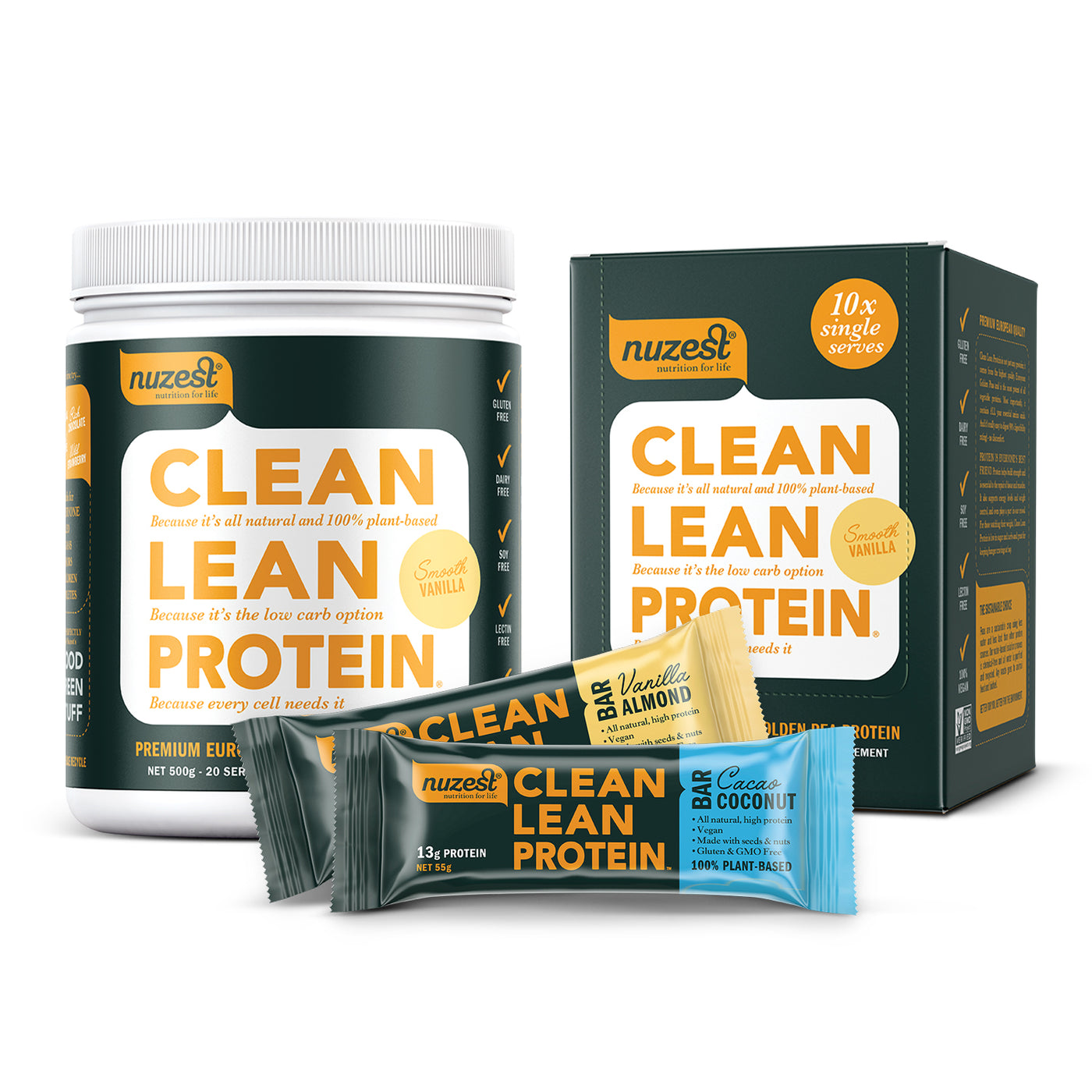 Clean Lean Protein Athletes Pack