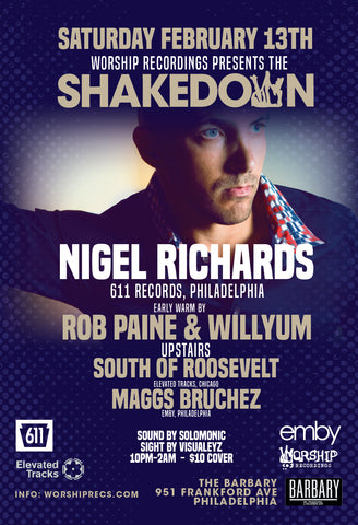 The Shakedown w Nigel Richards (611 Records)