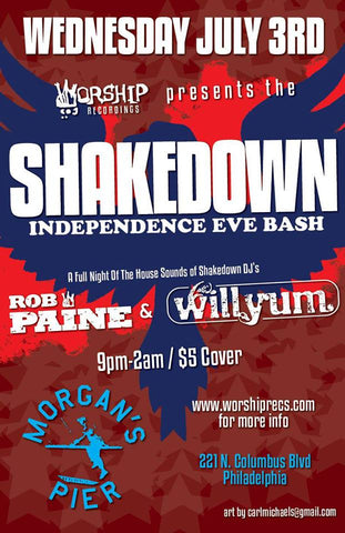 Shakedown Independence Eve Bash