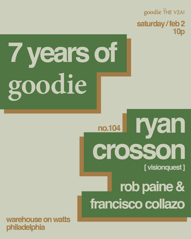 7 Years of goodie : Ryan Crosson