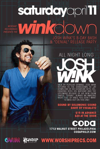 CONTEST: Josh Wink at CODA