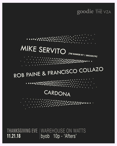 Thanksgiving Eve w Mike Servito