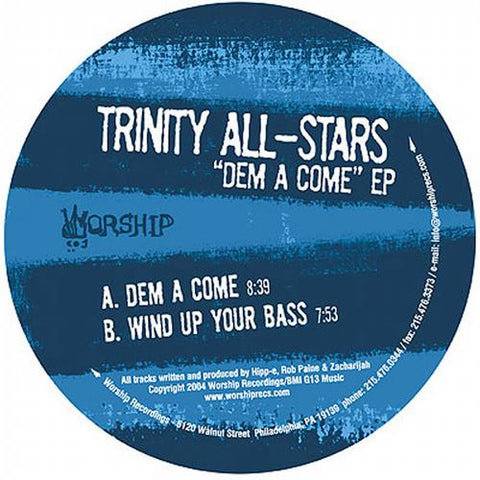 "#WorshipWednesday- Trinity Allstars "" Dem A Come"" EP"
