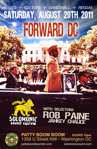 Forward DC. Solomonic's monthly residency @ Patty Boom Boom in DC