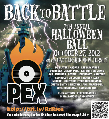 Back To Battle... PEX 7th Annual Halloween Ball