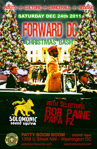 FORWARD DC XMAS EVE BASH - Solomonic Sound's Monthly residency @ Patty Boom Boom