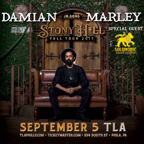 Damian Marley, Solomonic Sound at The TLA Philly