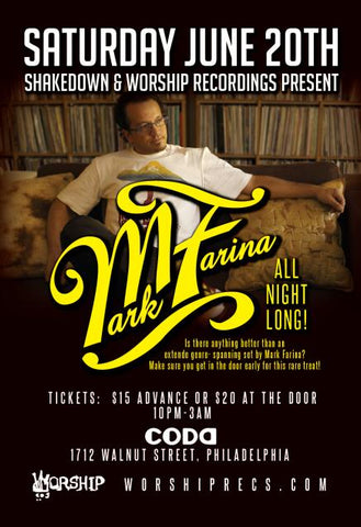Shakedown : Mark Farina : All Night Long!