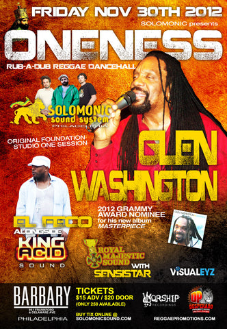 Oneness w/ Glen Washington