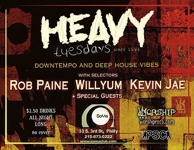 The LAST HEAVY tuesdays @ SoMa!