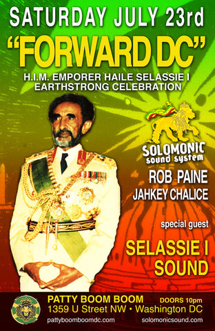 Forward DC 'Selassie I Earth Strong Dance' w/ DC own Selassie I Sound