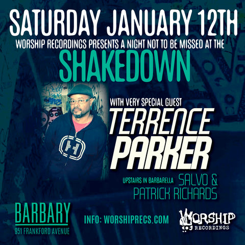 The Shakedown : Terrence Parker