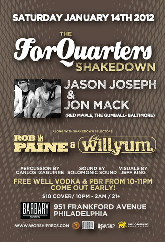 The For Quarters Shakedown