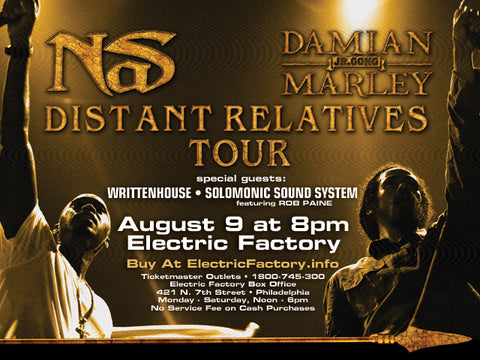 NAS & Damian Marley / Distant Relatives Tour