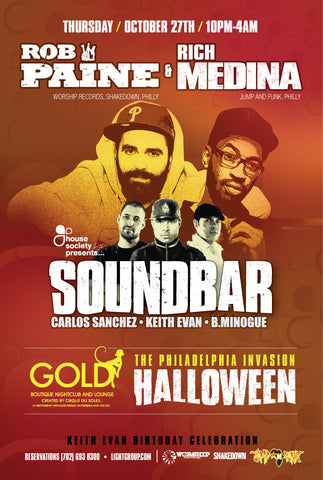 Soundbar - Halloween Jawn w/ Rich Medina & Rob Paine