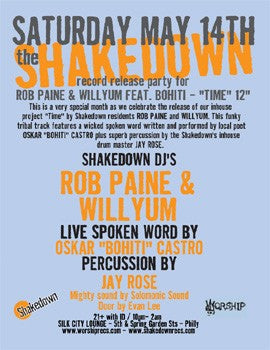 THE SHAKEDOWN RECORD RELEASE PARTY