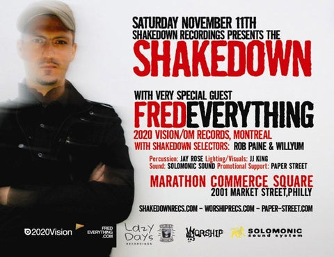 The Shakedown with guest Fred Everything