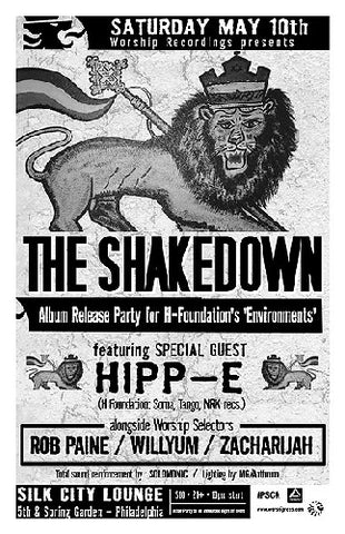 THE SHAKEDOWN with guest HIPP-E