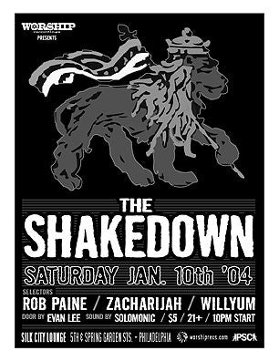 EVERY 2nd SATURDAY Worship presents THE SHAKEDOWN