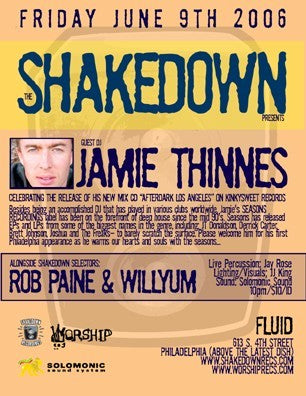 The Shakedown *Friday* June 9th at Fluid