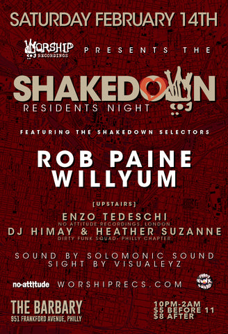 The Shakedown - Residents Night