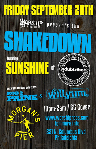 The Shakedown @ Morgan's Pier feat Sunshine from Dubtribe