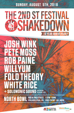 The 2nd St Festival Shakedown 10 year Anniversary