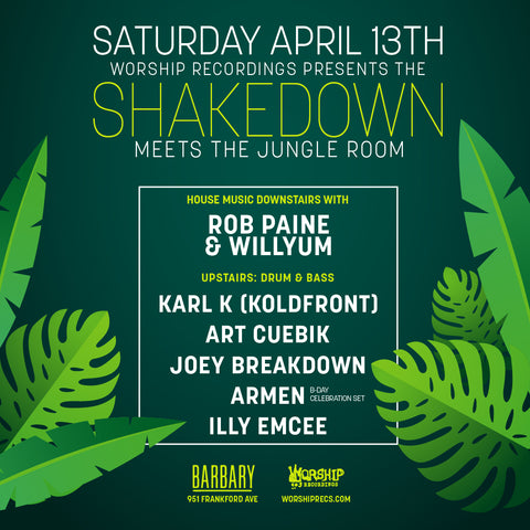 The Shakedown meets the Jungle Room
