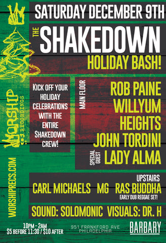The Shakedown Holiday Bash