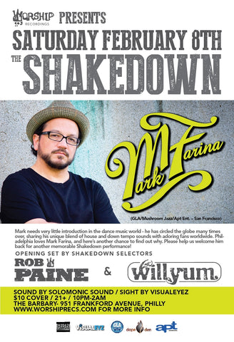 Shakedown with Mark Farina