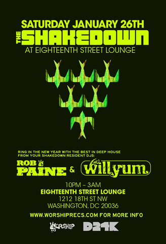 Shakedown DC @ Eighteenth Street Lounge