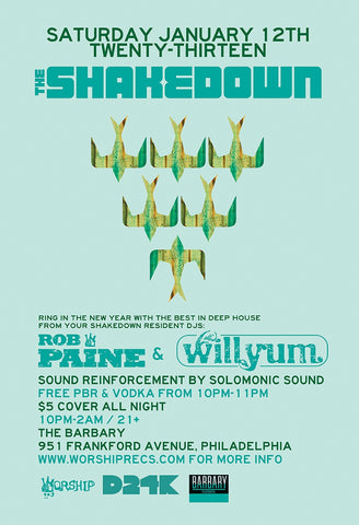 The Shakedown Residents Night
