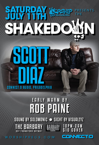 Shakedown : Scott Diaz : Rob Paine
