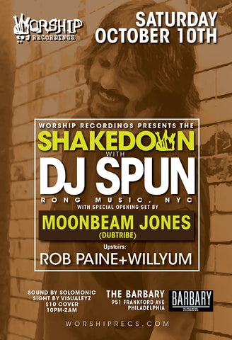 Shakedown : Dj Spun / Moonbeam Jones