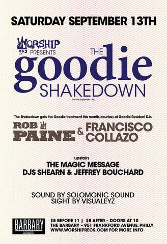 The goodie Shakedown